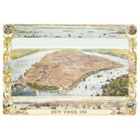 Piatnik - Map of New York - 1853 Puzzle 1000pce