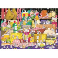 Piatnik - Mouse Party Puzzle 1000pc