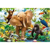 Ravensburger - Jungle Juniors SuperSize Puzzle 24pc