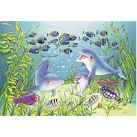 Ravensburger - On the Seabed Puzzle 2x12pc