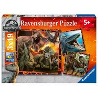 Ravensburger - Jurassic World Instinct to Hunt Puzzle 3x49pc