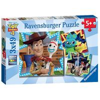 Ravensburger - Disney Toy Story 4 Puzzle 3x49pc