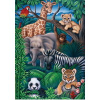 Ravensburger - Animal Kingdom Puzzle - 35pc