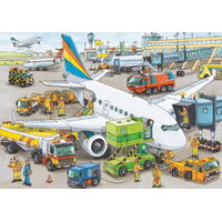 Ravensburger - Busy Airport Puzzle - 35pc