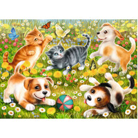 Ravensburger - Cats & Dogs Puzzle 60pc