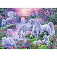 Ravensburger - Unicorns at Sunset Puzzle 150pc