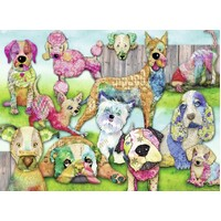 Ravensburger - Patchwork Pups Puzzle 150pc