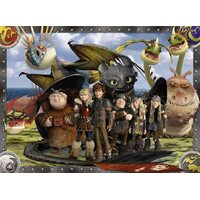 Ravensburger - How to Train Your Dragon - Hicks & Friends Puzzle 100pc