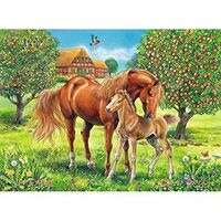 Ravensburger - Horses in the Field Puzzle 100pc