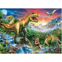 Ravensburger - Time of the Dinosaurs Puzzle 100pc