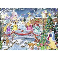 Ravensburger - Disney Princess Christmas Puzzle 100pc
