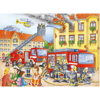 Ravensburger - Fire Brigade Puzzle - 100pc