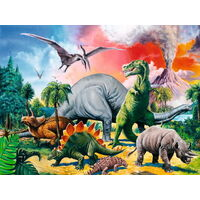 Ravensburger - Among The Dinosaurs Puzzle -100pc
