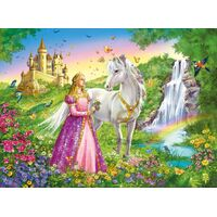Ravensburger - Princess with Horse Puzzle - 200pc