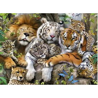 Ravensburger - Big Cat Nap Puzzle 200pc