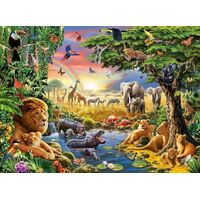 Ravensburger - At the Watering Hole Puzzle 300pc