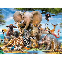 Ravensburger - Favourite Wild Animals Puzzle 300pc