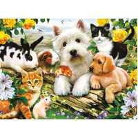 Ravensburger - Happy Animal Babies Puzzle - 300pc