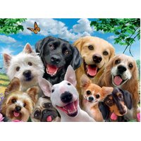Ravensburger - Delighted Dogs Puzzle 300pc