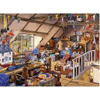 Ravensburger - Grandmas Attic Large Format Puzzle 500pc