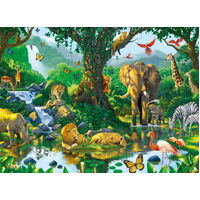 Ravensburger - Harmony in the Jungle Puzzle 500pc