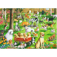 Ravensburger - At the Dog Park Large Format Puzzle 500pc