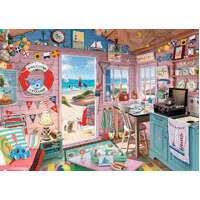 Ravensburger - My Haven No 7 - The Beach Hut Puzzle 1000pc