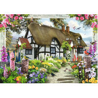 Ravensburger - Rose Cottage Puzzle 1000pc