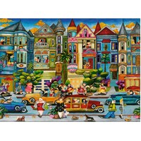 Ravensburger - The Painted Ladies Puzzle 1500pc