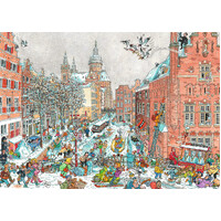 Ravensburger - Amsterdam in Winter Puzzle 925pc