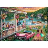 Ravensburger - Summer at the Lake Large Format Puzzle 300pc
