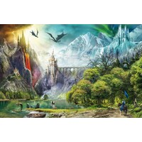 Ravensburger - Reign of Dragons Puzzle 3000pc