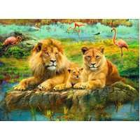Ravensburger - Lions in the Savannah Puzzle 500pc