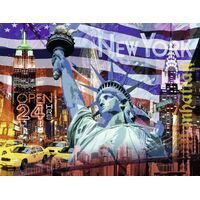 Ravensburger - New York Collage Puzzle 2000pc