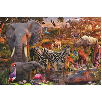 Ravensburger - African Animal World Puzzle - 3000pc