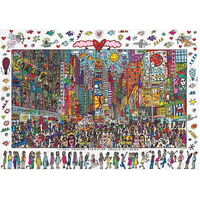 Ravensburger - James Rizzi: Times Square Puzzle - 1000pc