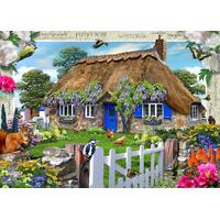Ravensburger - Wisteria Country Cottage Puzzle 1000pc
