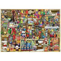 Ravensburger - Colin Thompson Christmas Cupboard Puzzle 1000pc