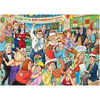 Ravensburger - Office Christmas Party Puzzle 1000pc