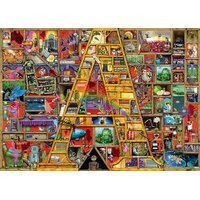 Ravensburger - Colin Thompson Awesome Alphabet A Puzzle 1000pc