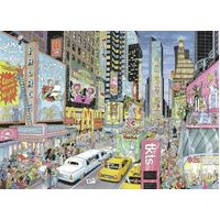 Ravensburger - Fleroux, New York Puzzle 1000pc