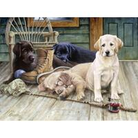 Ravensburger - Ruff Day Large Format Puzzle 750pc