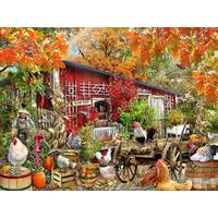 Sunsout - Barnyard Chickens Puzzle 500pce