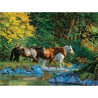 Sunsout - Bear Creek Crossing Puzzle 1000pce