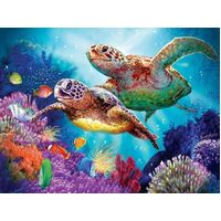 Sunsout - Turtle Guardian Puzzle 1000pc