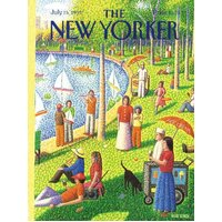 New York Puzzle Company - Sunday Afternoon in Central Park Puzzle 1000pc