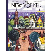 New York Puzzle Company - Village by the Sea Puzzle 1000pc
