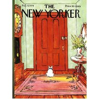 New York Puzzle Company - Dog Behind the Door Puzzle 1000pc