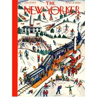 New York Puzzle Company - Winter Weekend Puzzle 1000pc