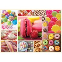 Trefl - Cuisine Decor, Candy Puzzle 1000pc